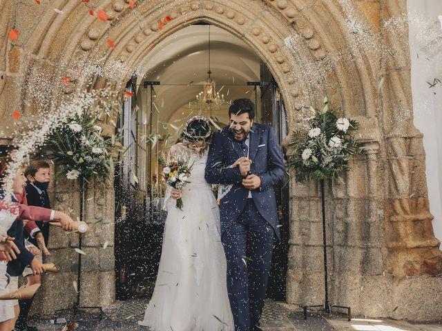 La boda de María y Santi en Oliva De La Frontera, Badajoz 65