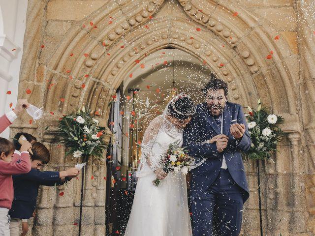 La boda de María y Santi en Oliva De La Frontera, Badajoz 66