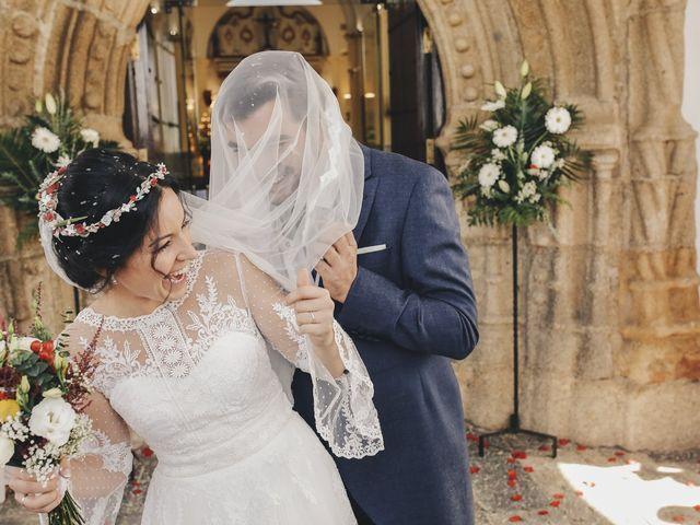 La boda de María y Santi en Oliva De La Frontera, Badajoz 68