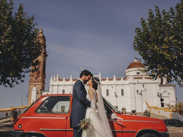 La boda de María y Santi en Oliva De La Frontera, Badajoz 2