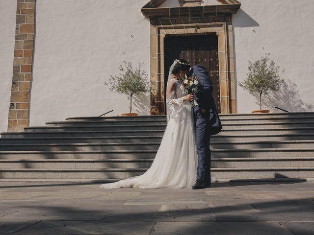 La boda de María y Santi en Oliva De La Frontera, Badajoz 72