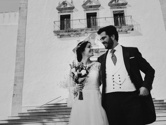 La boda de María y Santi en Oliva De La Frontera, Badajoz 73