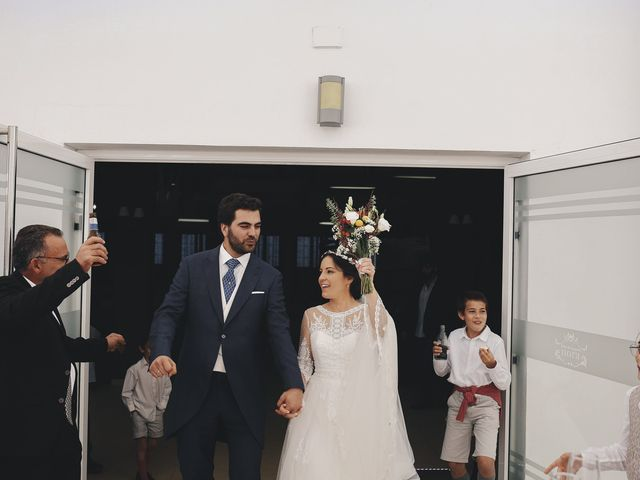 La boda de María y Santi en Oliva De La Frontera, Badajoz 74