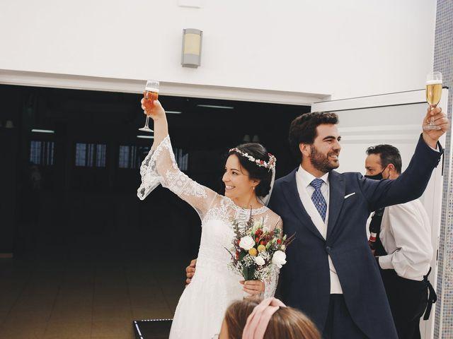 La boda de María y Santi en Oliva De La Frontera, Badajoz 75