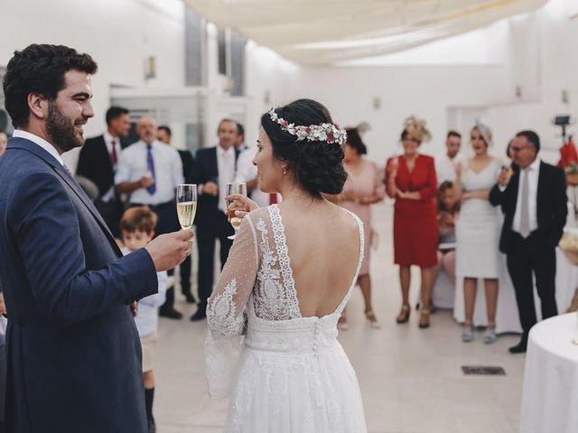 La boda de María y Santi en Oliva De La Frontera, Badajoz 84