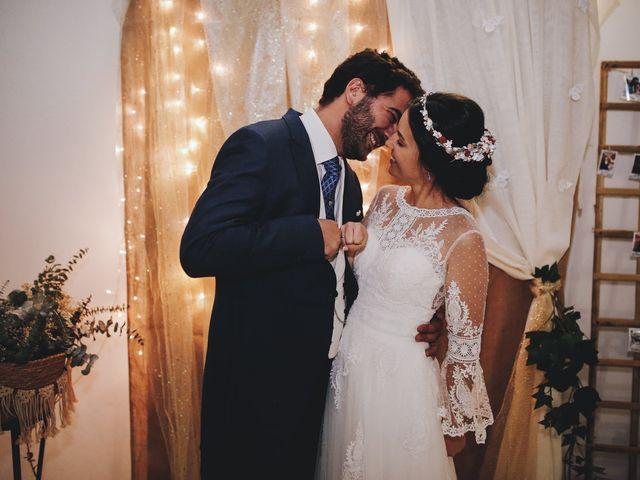 La boda de María y Santi en Oliva De La Frontera, Badajoz 92