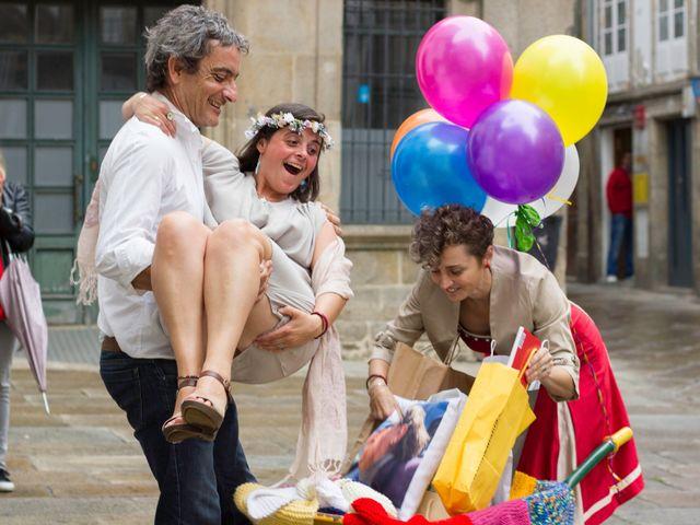 La boda de Patricia y Ana en Santiago De Compostela, A Coruña 12