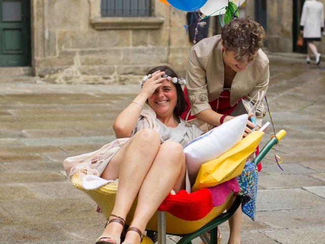La boda de Patricia y Ana en Santiago De Compostela, A Coruña 13