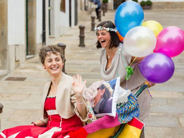 La boda de Patricia y Ana en Santiago De Compostela, A Coruña 17