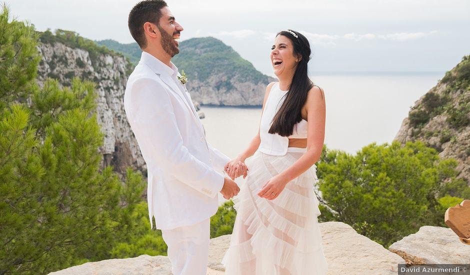 La boda de José y Tamara en Cala De San Vicente Ibiza, Islas Baleares