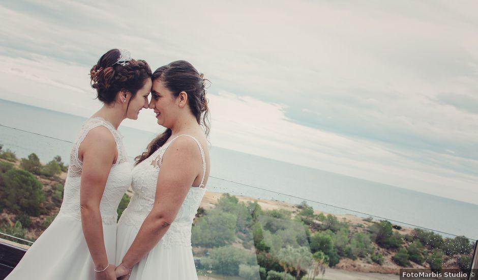 La boda de Nuria y Amanda en L' Ametlla De Mar, Tarragona