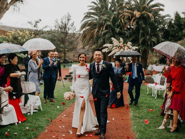 La boda de Yuna y Noemi en Galdar, Las Palmas 25
