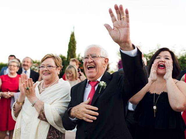 La boda de Javier y Isabel en Alboraya, Valencia 42