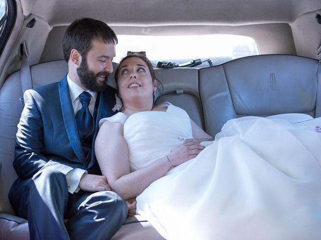 La boda de Juanra y Jeni en Abanto, Zaragoza 14