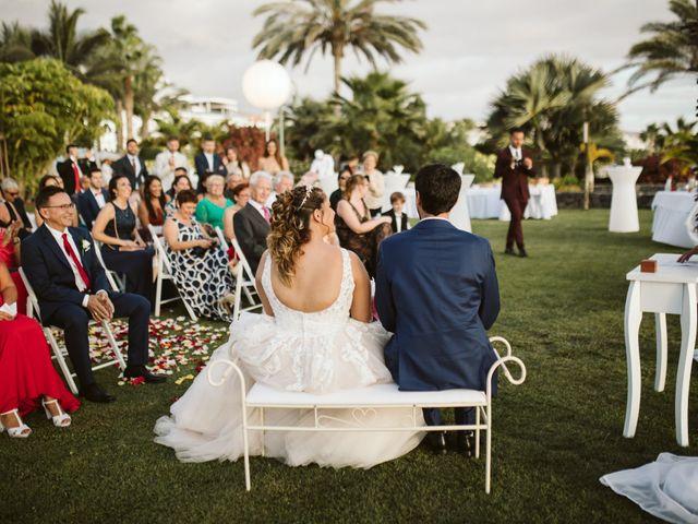 La boda de Juan Carlos  y Abigail en La Caleta (Adeje), Santa Cruz de Tenerife 15