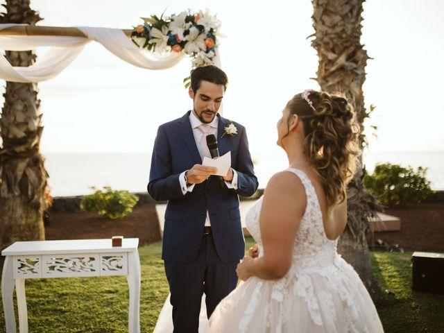 La boda de Juan Carlos  y Abigail en La Caleta (Adeje), Santa Cruz de Tenerife 17