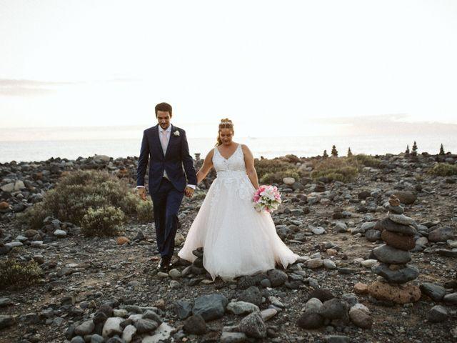 La boda de Juan Carlos  y Abigail en La Caleta (Adeje), Santa Cruz de Tenerife 20
