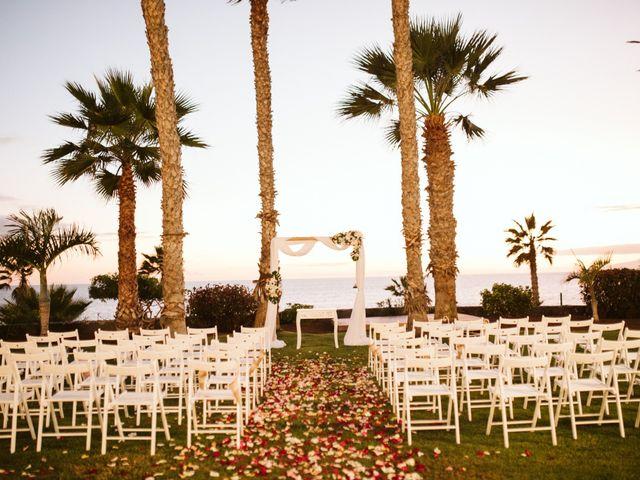 La boda de Juan Carlos  y Abigail en La Caleta (Adeje), Santa Cruz de Tenerife 27