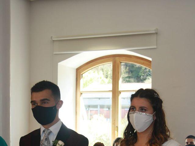 La boda de Aritz y Sarai en Ugao-miraballes, Vizcaya 12