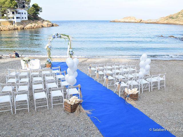 La boda de JUDITH y JORDI en Begur, Girona 1