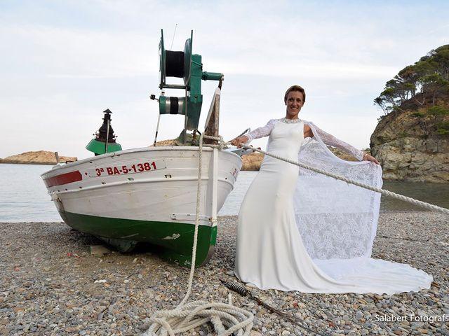 La boda de JUDITH y JORDI en Begur, Girona 7