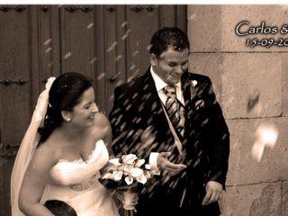La boda de Carlos y Elisabeth