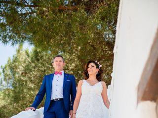 La boda de Virginia y Roberto