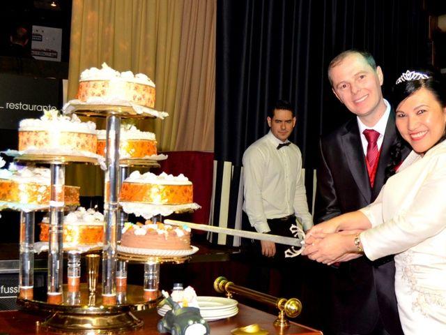 La boda de Cristian y Luz Mery