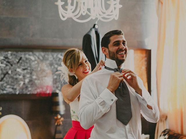 La boda de Antonio y Sandra en Ballesteros De Calatrava, Ciudad Real 7