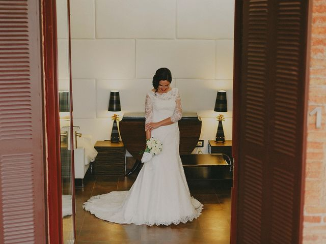 La boda de Antonio y Sandra en Ballesteros De Calatrava, Ciudad Real 15