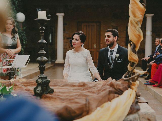 La boda de Antonio y Sandra en Ballesteros De Calatrava, Ciudad Real 16