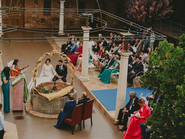La boda de Antonio y Sandra en Ballesteros De Calatrava, Ciudad Real 17