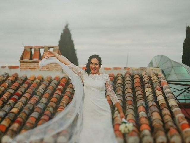 La boda de Antonio y Sandra en Ballesteros De Calatrava, Ciudad Real 1