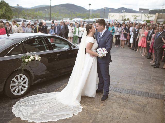 La boda de Borja y Adriana en Gorraiz, Navarra 2