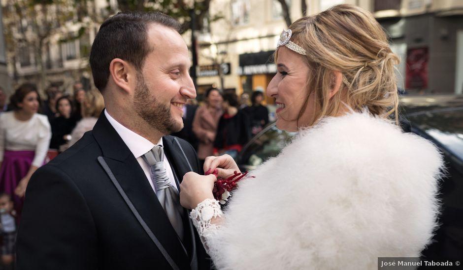 La boda de Iván y Inés en Zaragoza, Zaragoza