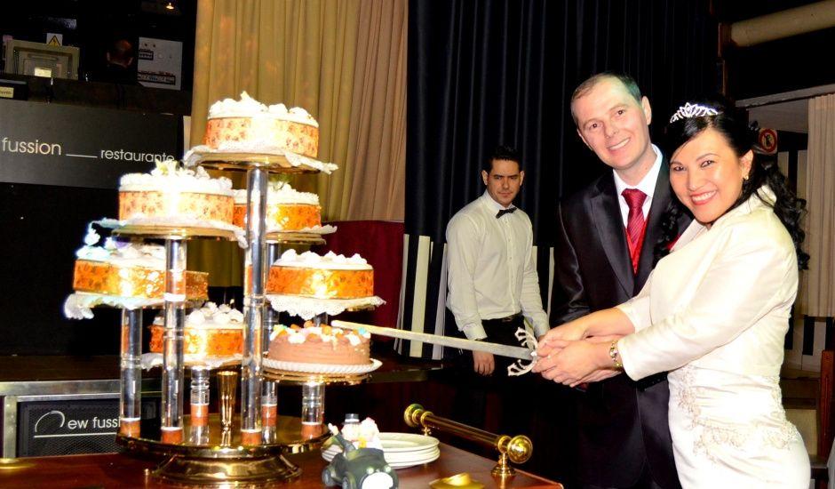 La boda de Luz Mery y Cristian en Zaragoza, Zaragoza