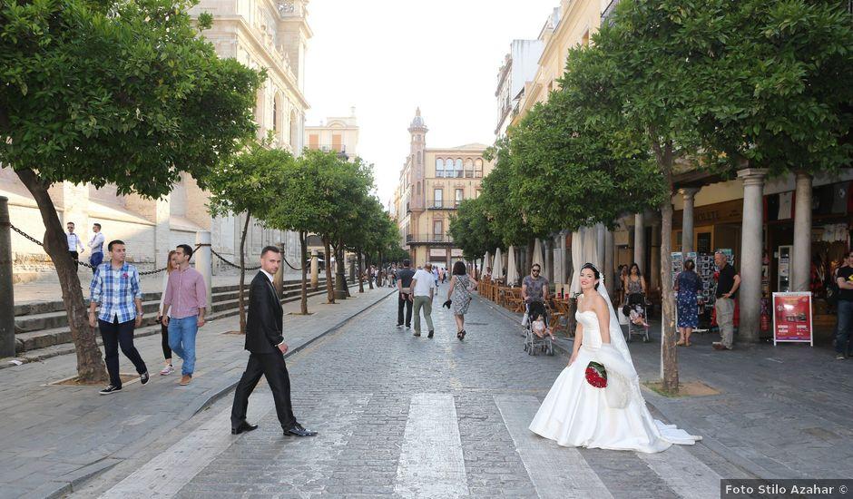 La boda de Manuel y Carolina en Utrera, Sevilla