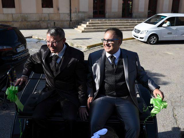 La boda de Matías y Juan en Requena, Valencia 10