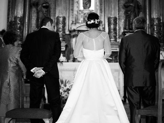 La boda de Javier y Leticia en Casarejos, Soria 17