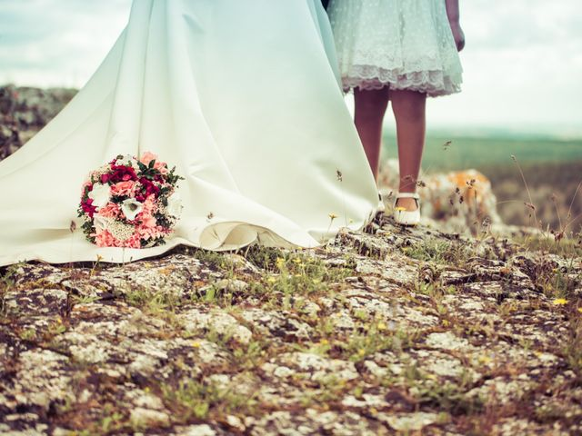 La boda de Javier y Leticia en Casarejos, Soria 28