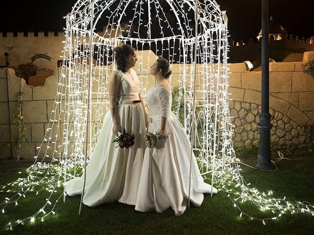 La boda de Patricia  y Eva en Pedrola, Zaragoza 1