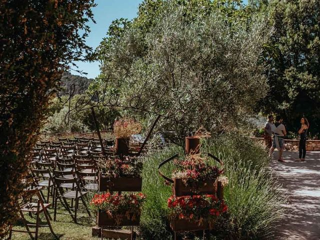 La boda de Borja y Geo en Tagamanent, Barcelona 14