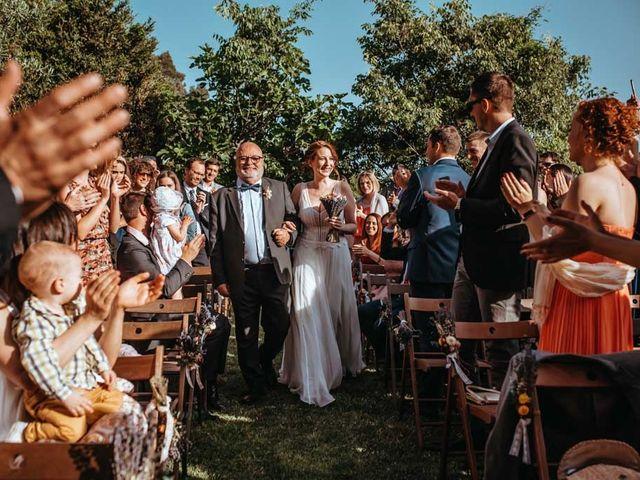 La boda de Borja y Geo en Tagamanent, Barcelona 99