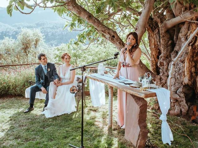 La boda de Borja y Geo en Tagamanent, Barcelona 106