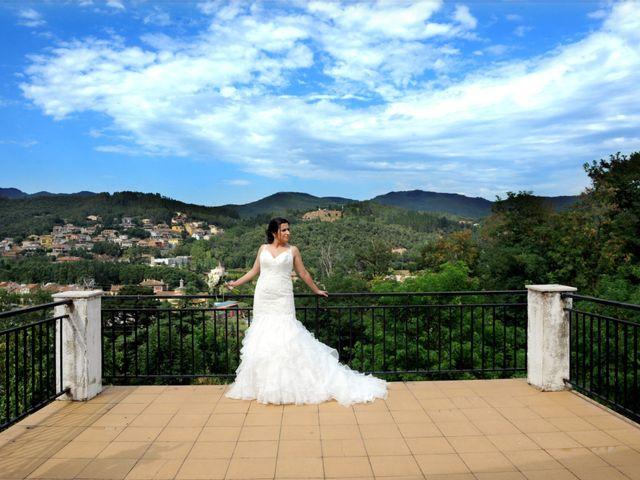 La boda de Iris y Ruben en Santa Coloma De Farners, Girona 2