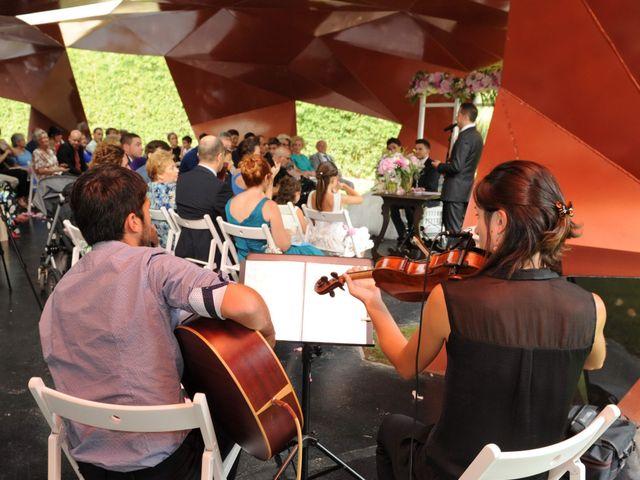 La boda de Iris y Ruben en Santa Coloma De Farners, Girona 14