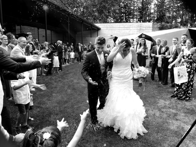 La boda de Iris y Ruben en Santa Coloma De Farners, Girona 17