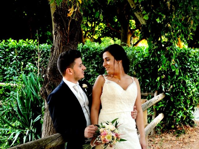 La boda de Iris y Ruben en Santa Coloma De Farners, Girona 20