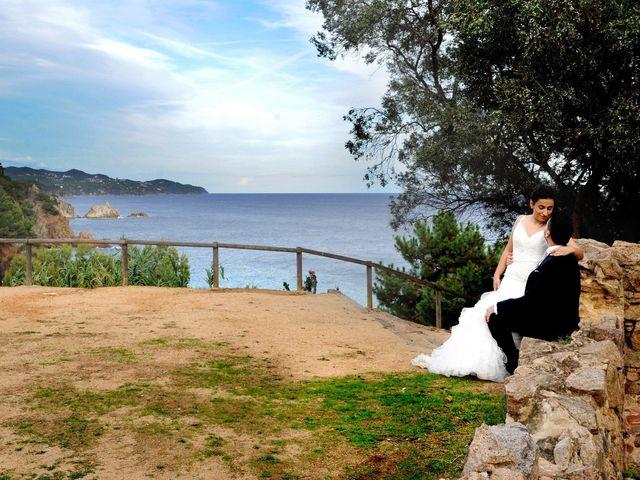 La boda de Iris y Ruben en Santa Coloma De Farners, Girona 51