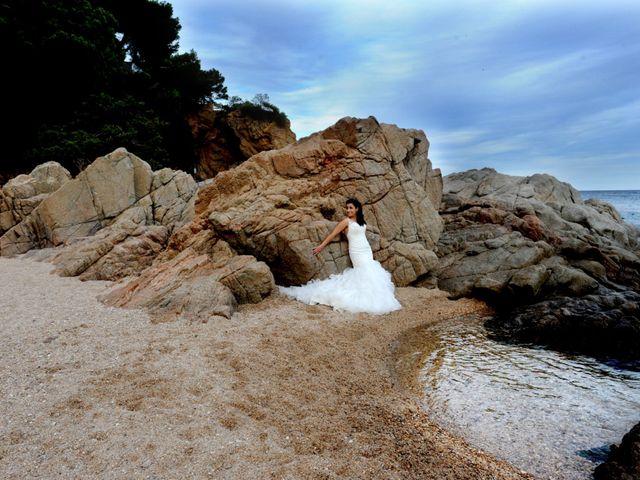 La boda de Iris y Ruben en Santa Coloma De Farners, Girona 53